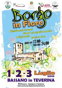 Borgo in Fiore a Bassano in Teverina | Fiere nel Lazio
