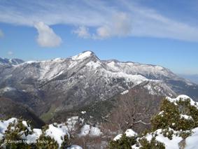 Monte Gemma dal valico di Monte Acuto (Maenza) | Escursioni, Sentieri e Trekking nel Lazio