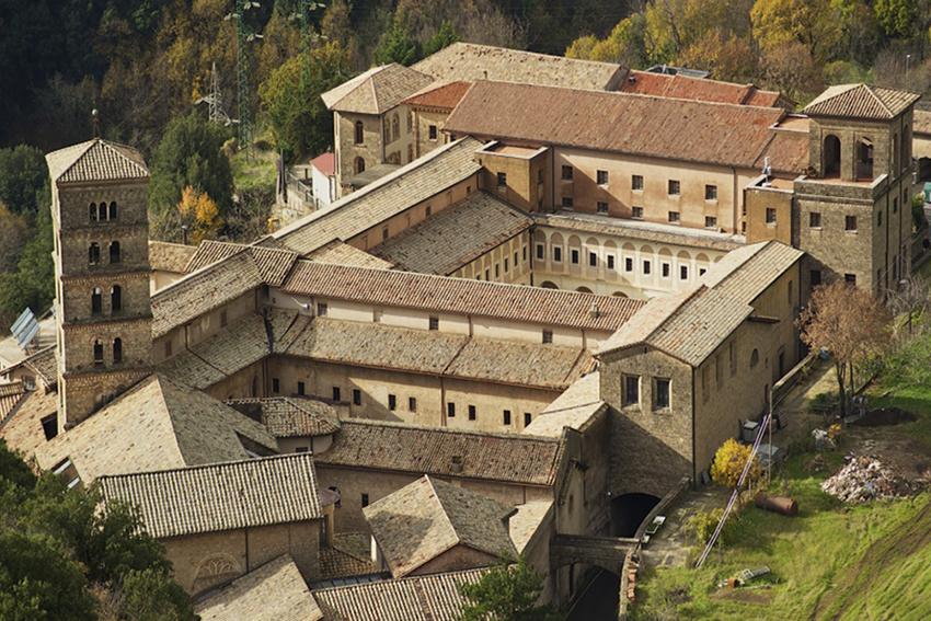 monastero di santa scolastica cosa vedere