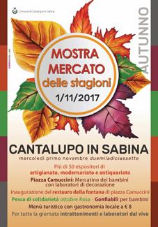 Mostra - Mercato delle Stagioni a Cantalupo in Sabina (RI) | Fiere nel Lazio