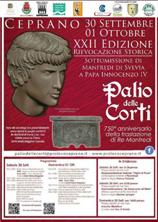 Palio delle Corti a Ceprano (FR) | Feste Medievali e Rievocazioni Storiche nel Lazio