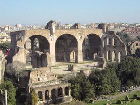 Visita la Basilica di Massenzio