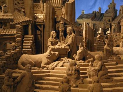 Presepe di Sabbia a Roma (RM) | Presepi Viventi e Artistici del Lazio