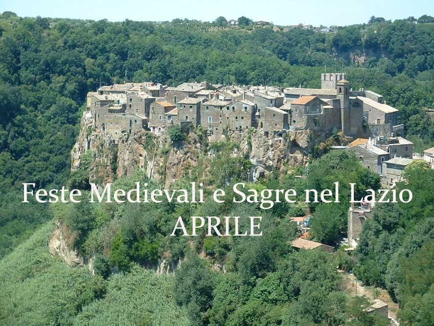 Feste Medievali e Sagre nel Lazio - Aprile