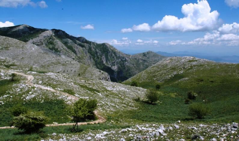 Monte Petrella da Maranola   Sentieri nel Lazio