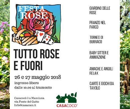 Festa delle Rose di Casacocò a Manziana 2018   Fiere nel Lazio