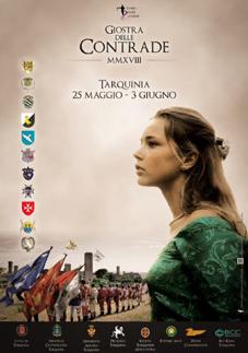 Giostra delle Contrade 2018 a Tarquinia (VT) | Feste Medievali e Rievocazioni Storiche nel Lazio