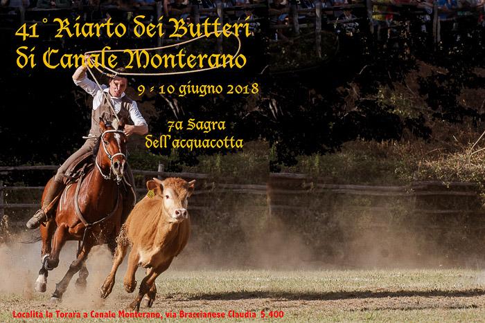 Riarto dei Butteri 2018 a Canale Monterano (RM)