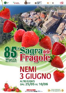 Sagra delle Fragole 2018 a Nemi (RM) | Sagre nel Lazio