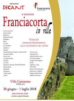 Franciacorta in Villa a Fondi (LT) | Fiere nel Lazio