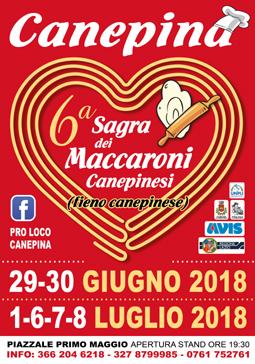 Sagra dei Maccaroni Canepinesi a Canepina (VT) | Sagre nel Lazio