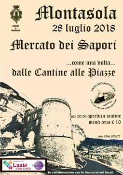 Il Mercato dei Sapori a Montasola (RI) | Fiere nel Lazio