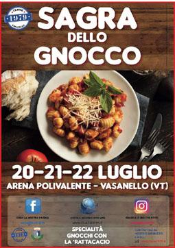 Sagra degli Gnocchi co' la Ratta Cacio a Vasanello (VT) | Sagre nel Lazio