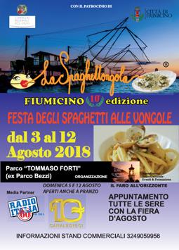 La Spaghettongola - Festa degli Spaghetti alle Vongole 2018 a Fiumicino (RM) | Sagre nel Lazio