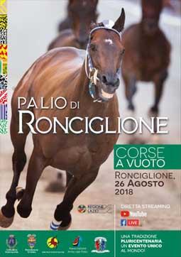 Palio di Ronciglione (VT) 2018 | Feste Medievali e Rievocazioni Storiche nel Lazio