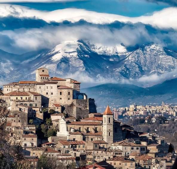 Ceccano (FR) Panorama SUD-OVEST