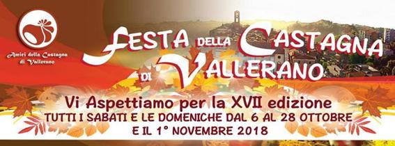 Festa della Castagna 2018 di Vallerano (VT) | Sagre nel Lazio