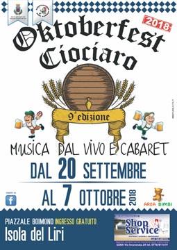 Oktoberfest Ciociaro 2018 a Isola del Liri (FR) | Eventi nel Lazio
