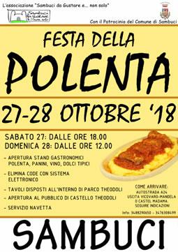 Festa della Polenta 2018 a Sambuci (RM)   Sagre nel Lazio