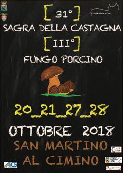 Sagra della Castagna e del Fungo Porcino 2018 a San ...
