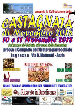 Castagnata di Novembre 2018 ad Anzio | Sagre nel Lazio