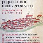 Festa dell'Olio e del Vino Novello 2018 a Vignanello (VT) | Sagre nel Lazio