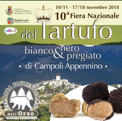 Fiera del Tartufo Bianco e Nero a Campoli Appennino (FR) | Fiere nel Lazio