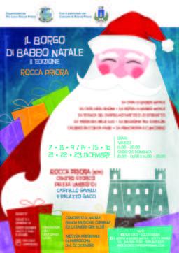 Il Borgo di Babbo Natale 2018 a Rocca Priora (RM) | Eventi nel Lazio