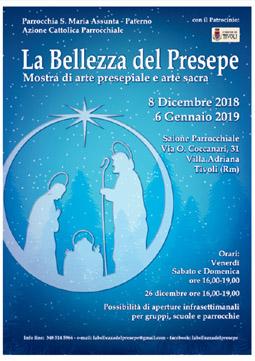 La Bellezza del Presepe 2018 a Tivoli (RM) | Presepi Viventi e Artistici del Lazio