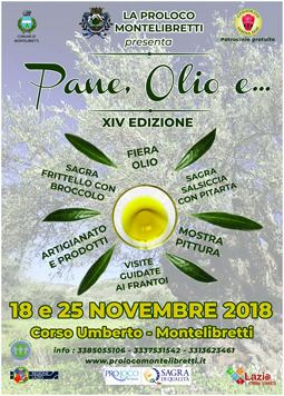 Pane, Olio e... 2018 a Montelibretti (RM) | Eventi Enogastronomici nel Lazio