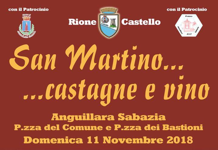 San Martino...Castagne e Vino ad Anguillara Sabazia