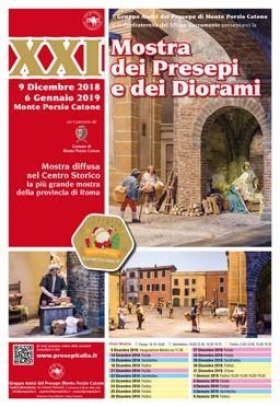 Mostra dei Presepi e dei Diorami 2018 a Monte Porzio Catone (RM) | Presepi Viventi e Artistici del Lazio
