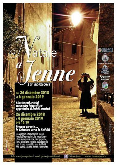 Presepe Vivente 2018 a Jenne (RM) | Presepi Viventi e Artistici del Lazio