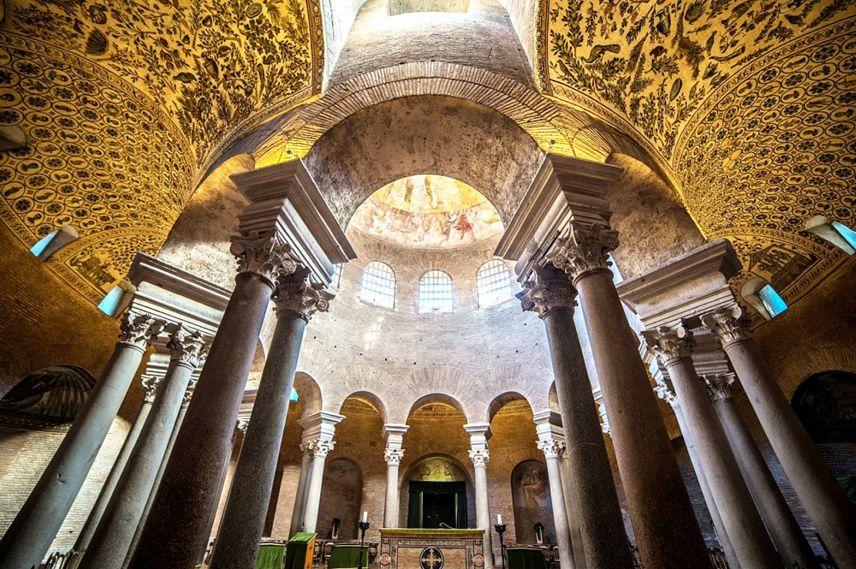 Il Mausoleo di Santa Costanza a Roma