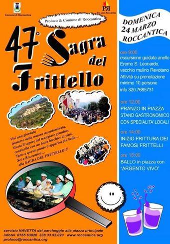 Sagra del Frittello 2019 a Roccantica (RI) | Sagre nel Lazio