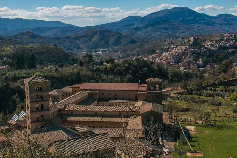 monasteri del lazio gr cosa vedere