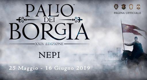 Palio dei Borgia 2019 a Nepi (VT) | Feste Medievali e Rievocazioni Storiche nel Lazio