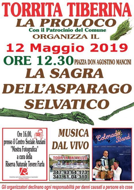 Sagra dell'Asparago Selvatico 2019 a Torrita Tiberina (RM) | Sagre nel Lazio