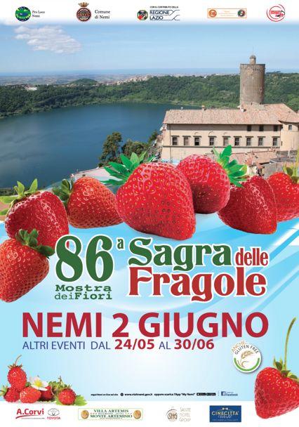 Sagra delle Fragole 2019 a Nemi (RM) | Sagre nel Lazio