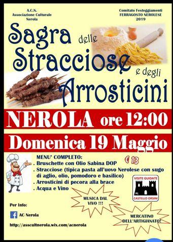 Sagra delle Stracciose e degli Arrosticini 2019 a Nerola (RM) | Sagre nel Lazio