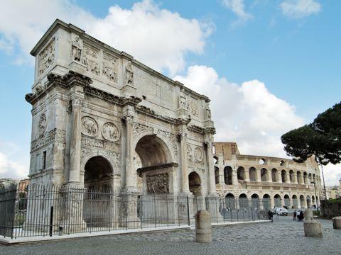 Arco di Costantino | I Monumenti di Roma