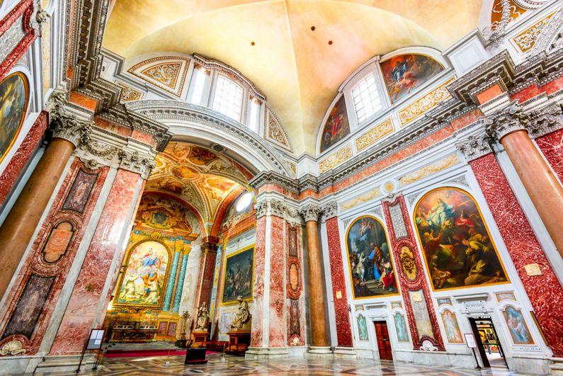 Basilica di Santa Maria degli Angeli e Martiri | Le Basiliche di Roma