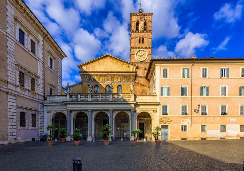 Basilica di Santa Maria in Trastevere | Le Basiliche di Roma