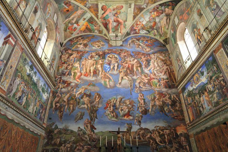La Cappella Sistina | I Monumenti di Roma