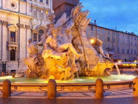 Fontana dei Quattro Fiumi | Le Fontane di Roma