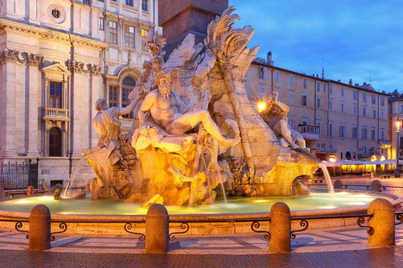 La Fontana dei Quattro Fiumi | Le Fontane di Roma