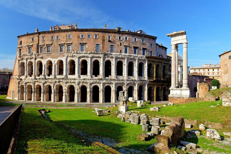 Il Teatro di Marcello | I Monumenti di Roma