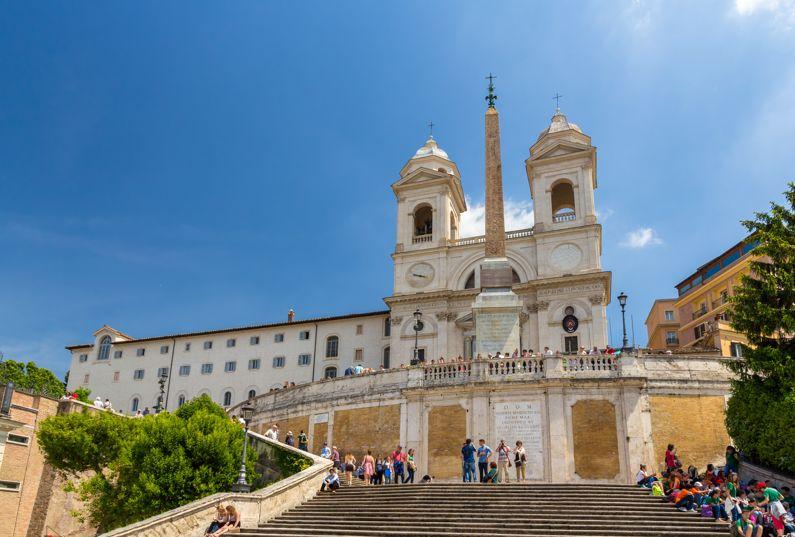 Trinità dei Monti | Le Chiese di Roma