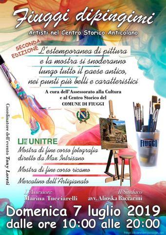 Fiuggi Dipingimi 2019 | Eventi artistici nel Lazio