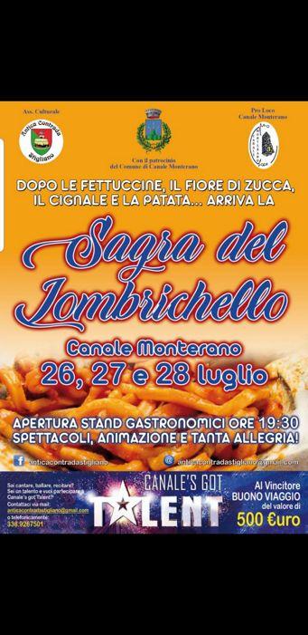 Sagra del Lombrichello 2019 a Canale Monterano (RM) | Sagre nel Lazio